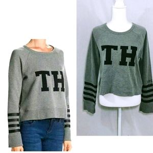 Tommy Hilfiger Cropped Long Sleeves Medium